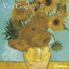 CALENDRIER 2017 - VAN GOGH - 30 x 30 cm