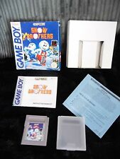 SNOW BROTHERS   NINTENDO GAME BOY ORIGINAL GAME -BOXED VERY RARE