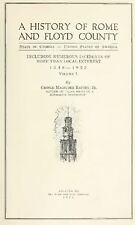 1922 ROME & FLOYD County Georgia GA, History and Genealogy Ancestry DVD CD B01