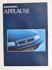 Daihatsu Applause - Prospekt Brochure 03.1995