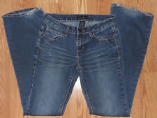 """EARL JEANS  SIZE 5 PREWASHED COMFY STRETCHY INSEAM 32"""" WOMENS BLUE JEANS"""