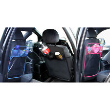 Car Seat Back Protector Cover Universal Fit with 3 Practical Pockets