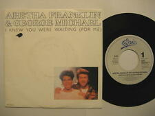 "Aretha Franklin & George Michael ""I Knew You Were Waiting for Me"" - 7"" single"