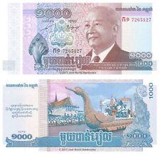Cambogia 1000 riels 2012 (2013) P-63 BANCONOTE UNC