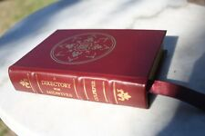 Leather Bound, Mint, Culpeper, A Directory of Midwives, gold gilt, Old English
