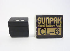 Sunpak CL-6 Nicad Battery Pack