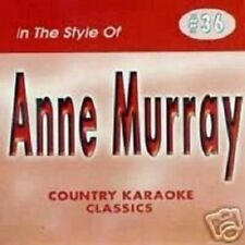 ANNE MURRAY Karaoke CD CDG 17 Sgs Could I Have This DanceYOU NEEDED ME Snowbird