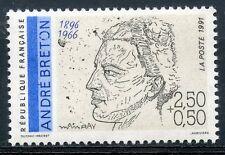 STAMP / TIMBRE FRANCE NEUF N° 2682 ** CELEBRITE / ANDRE BRETON
