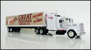 KENWORTH W900 SemiTrailer 1/43 Truck Diecast Great Northern Brew Custom Graphics