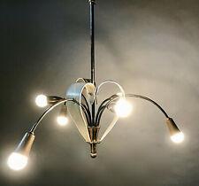 lustre 1950s chandelier suspension pendan mategot light mid century french