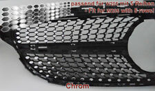 Chrome Autocollant diapositives Décalque F. Mercedes w205 Limo Coupe AMG Urban-Diamant Grill