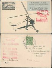 Aviation Used Great Britain Stamp Covers