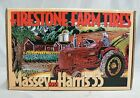 ERTL FIRESTONE FARM TIRES TOY 1955 MASSEY-HARRIS TRACTOR MINT IN BOX