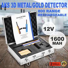 800M Distancia Remoto Detector De Metales Tesoros Buscar Metálicos Receptor Caso