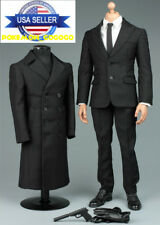 1/6 James Bond 007 Agent Suit Overcoat Set For Hot Toys Phicen Male Figure ❶USA❶