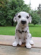 DALMATIAN PUPPY DOG FIGURINE resin animal Statue PET SITTING  ORNAMENT NEW