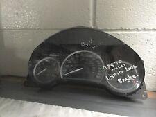 SAAB 9-3 93 Dashboard Clocks 8V Metallic Finish Unit 03-06 12763129 12768232 98K