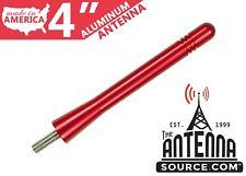 "**SHORT**  4"" RED ALUMINUM ANTENNA - FITS: 2010-2015 Can-Am Spyder ST/RT/RTS"