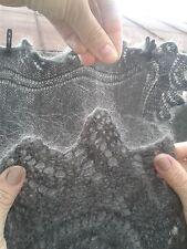 Теплый пуховый платок ручной работа 135*135 см