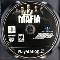 Mafia (Sony PlayStation 2, 2004) Disc Only