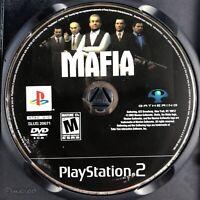 Mafia (Sony PlayStation 2, 2004) Disc Only