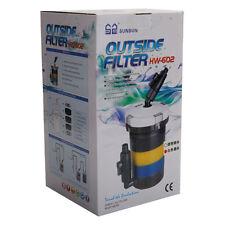 SUNSUN 110V 6W 400L/hr 106GPH UltraMute Aquarium External Canister Filter Cotton
