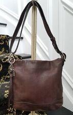 Coach Soho brown leather convertible duffle crossbody shoulderbag 1415