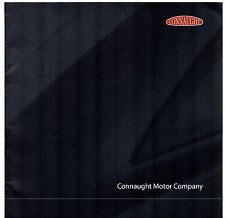 Connaught Type D 2006-07 UK Market Sales Brochure GT Syracuse h