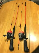 """2"" VINTAGE SOUTH BEND FISHING PAL SPINCAST COMBO'S"