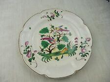 Ancienne assiette décor oiseau, Saint Clément