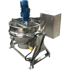 26Gal Electric Steam Jacketed Kettle Semi-automatic Gas Electric Popcorn Machine