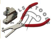High Quality 1.5 mm Metal Punch Hole Pliers for Soft Metals Plastics and Leather
