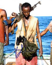 GFA Captain Phillips Movie * BARKHAD ABDI * Signed 8x10 Photo EJ1 COA