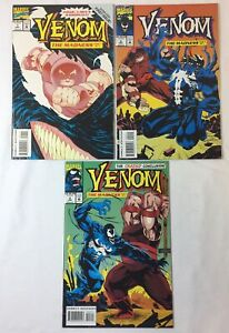 Marvel Comics VENOM THE MADNESS #1 2 3 ~ FULL SET