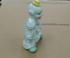 Porcelain Clowns Musical Instrument 5.5 Inch Very Cute