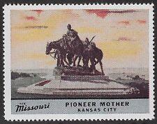 Usa Cinderella stamp: See Missouri: Pioneer Mother, Kansas City - dw763n
