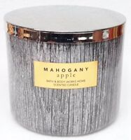 1 Bath & Body Works MAHOGANY APPLE Large 3-Wick Scented Candle 14.5 oz