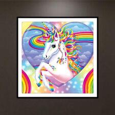 Unicorn 5D Diamond Painting Embroidery DIY Craft Cross Stitch Home Decor
