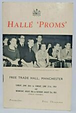 More details for halle proms free trade hall manchester prospectus programme 1954