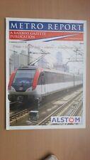 ► METRO REPORT - tram / light rail / metro / commuter rail 2004