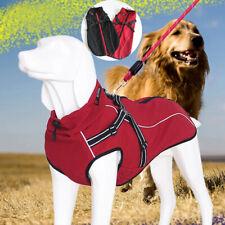 Dog Winter Waterproof Warm Fleece Sweater for Medium Vest Coats Jacket Pet Large
