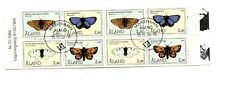 Aland #81a Used Booklet Butterflies 1994 Nice CDS  K254
