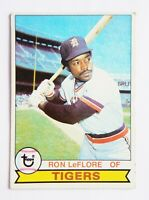 Ron LeFlore #660 Topps 1979 Baseball Card (Detroit Tigers) VG