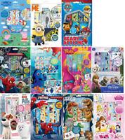 Disney Character Sticker Paradise - Book Album & Reusable Stickers Fun Activity