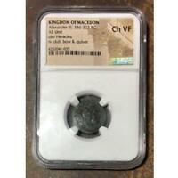 Kingdom of Macedon Alexander III, 336-323 BC NGC Ch VF ***Rev. Tye's*** #1035157