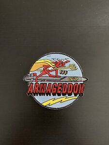 Patch Aéronavale Rafale 17F ASMP Armagedon