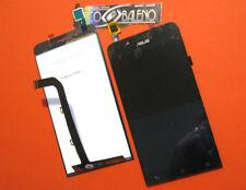 "P1 DISPLAY LCD+TOUCH SCREEN PER ASUS ZENFONE GO ZC500TG Z00VD 5,0"" VETRO NERO"