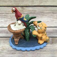 "Retired 1993 Danbury Mint Garfield ""King of the Jungle"" Figurine Jim Davis"