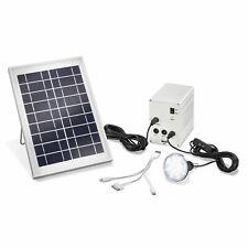 5 Watt Solar System Inselanlage LED Lampe Laderegler Handy Ladegerät Beleuchtung