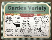 Unity Cosmo Cricket Garden Variety Tomato Cow Chick Blue Ribbon Bumblebee Stamps